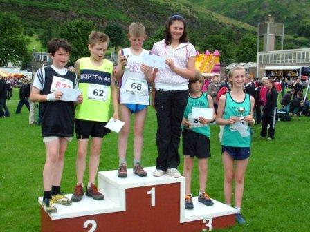 Under 12 Hill Race Presentation