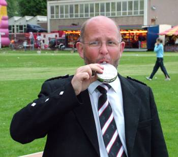 Secretary Craig Dunbar relaxes at end of Games