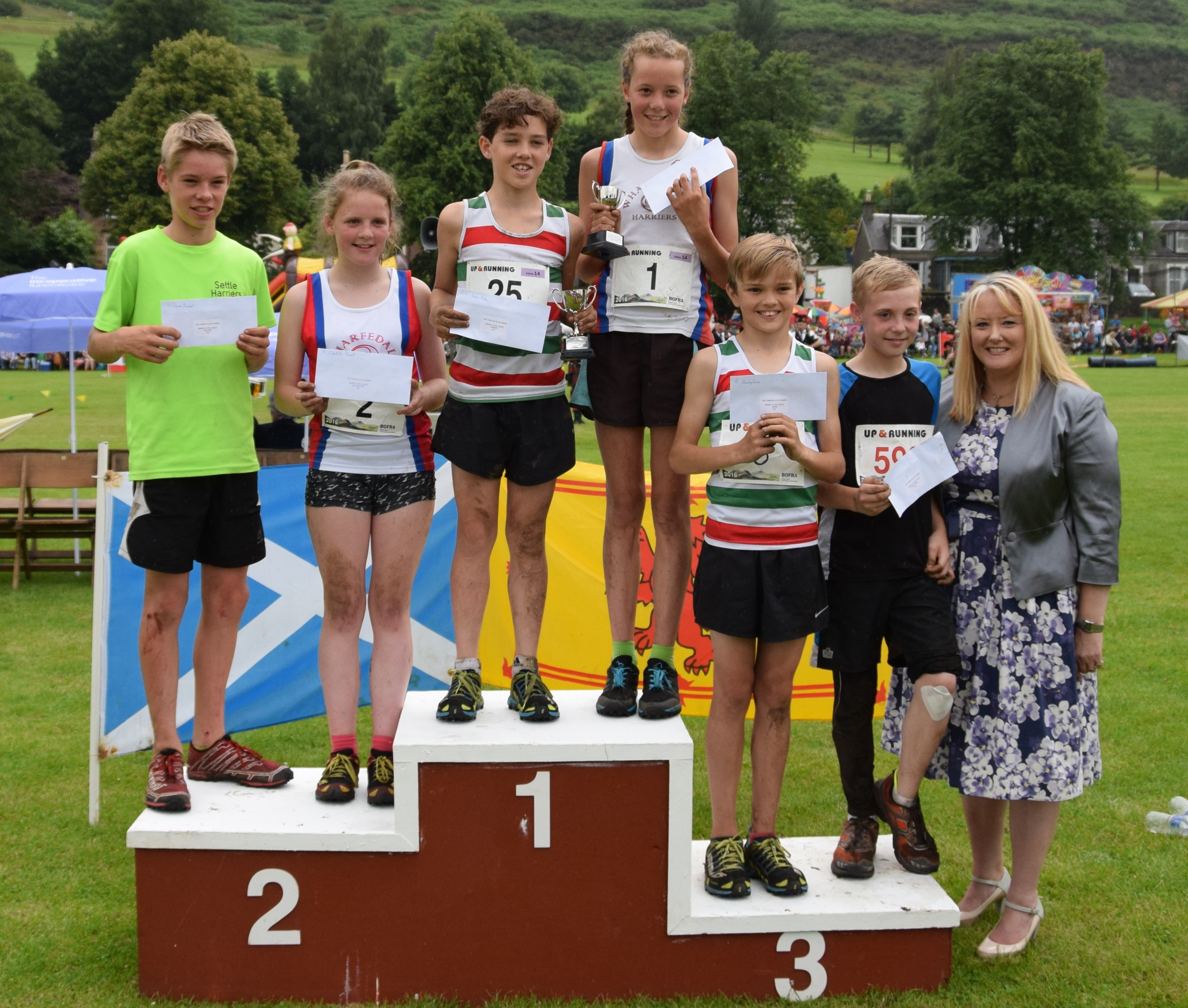 Under 14 Hill Race Prizewinners